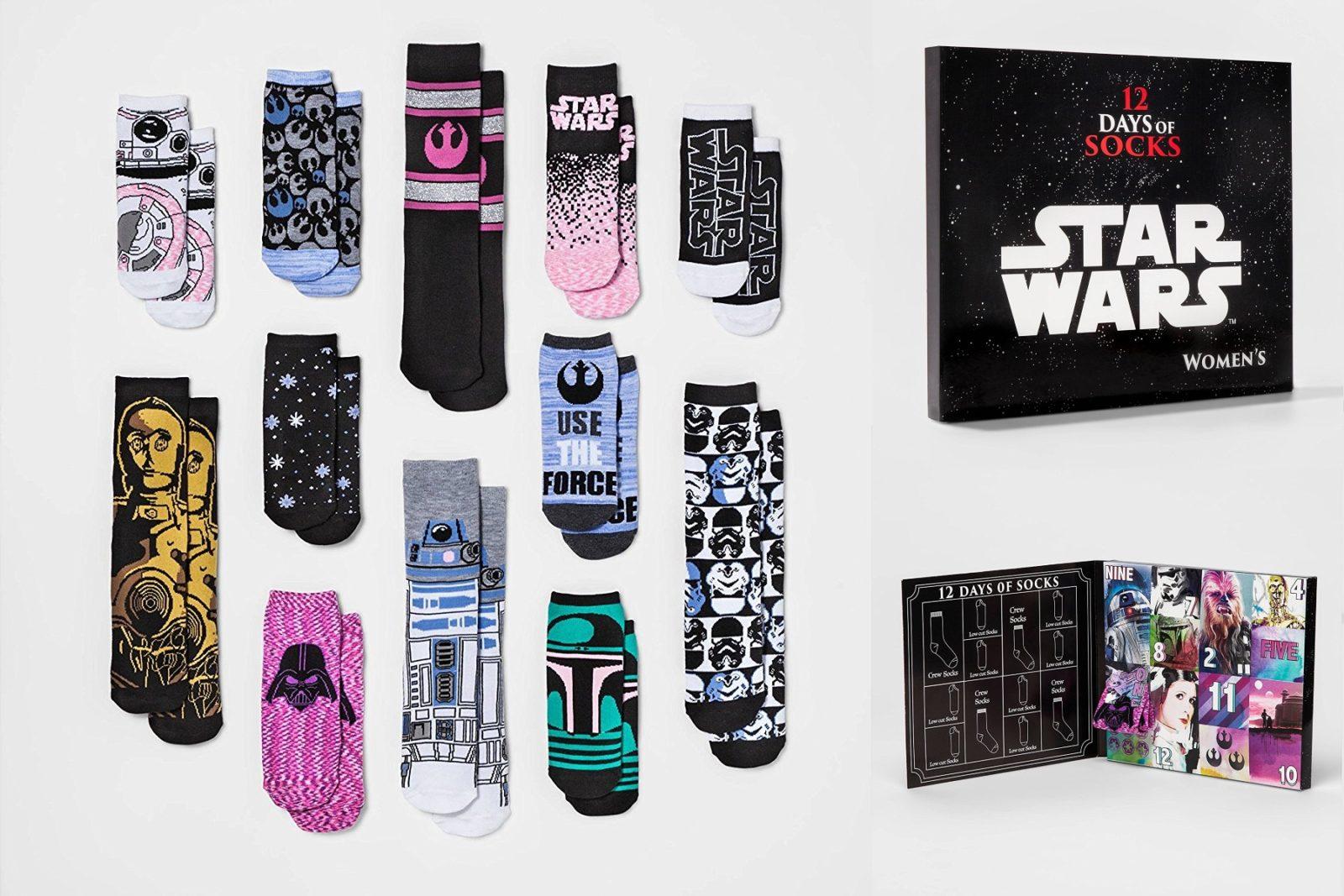 Meias Star Wars: Chegou a vez de arrasar com pés quentinhos nesse inverno!