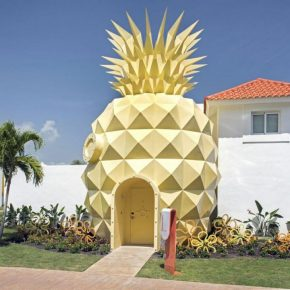 Resort em Punta Cana vira replica da casa do Bob Esponja