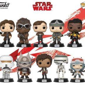 Funko lança colecionáveis de Han Solo: Uma História Star Wars