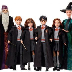 Mattel lançará uma coleção de bonecos inspirados em Harry Potter!
