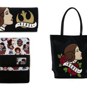 Loungefly lança carteira e bolsa da Princesa Leia