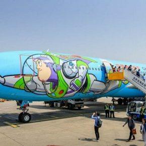 Companhia aérea chinesa cria avião temático inspirado em Toy Story