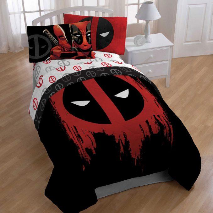 Deadpool: Conjunto de cama do ex-agente especial