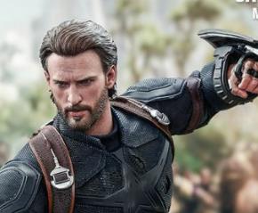 Guerra Infinita: Hot Toys lança Capitão América