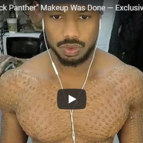 Vídeo mostra transformação do ator Michael B. Jordan no vilão Killmonger