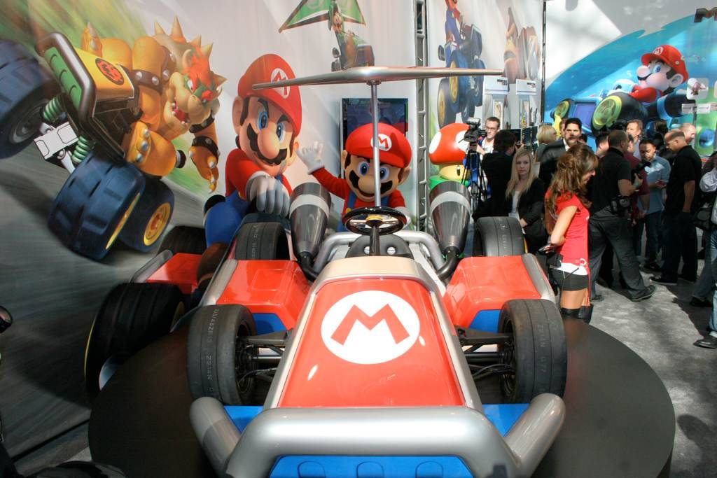 mario kart la auto show 6. Black Bedroom Furniture Sets. Home Design Ideas