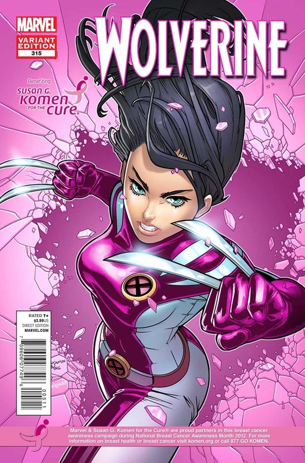 Especial: Marvel – HQs contra o Cancer de Mama. 17