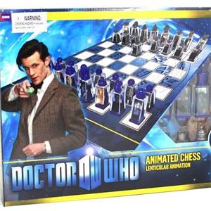 Doctor Who - Xadrez com Peças Animadas | Garotas Nerds