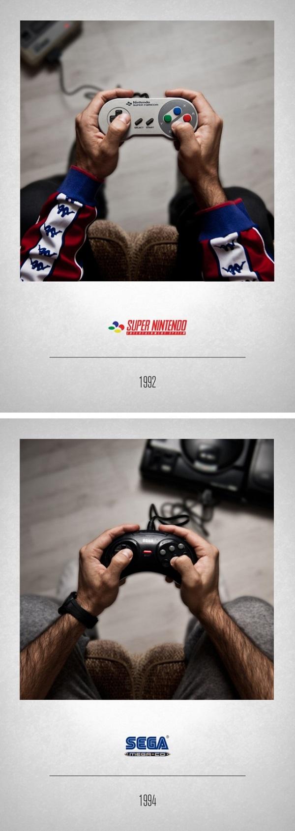 Controllers a história dos consoles