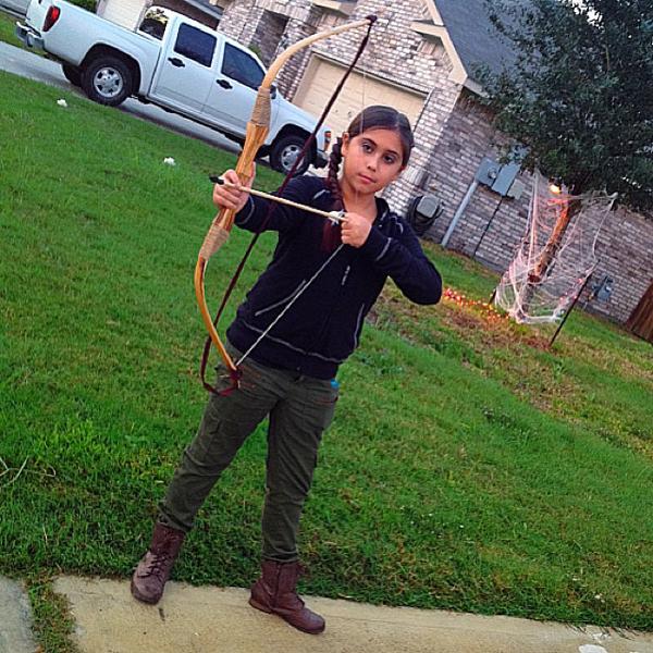 Criança Nerd Katniss Everdeen