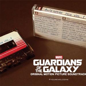 Guardiões da Galáxia - Fita Cassete da Trilha Sonora | Garotas Nerds