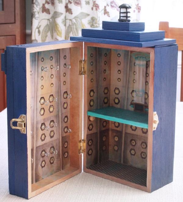 Porta-jóias TARDIS