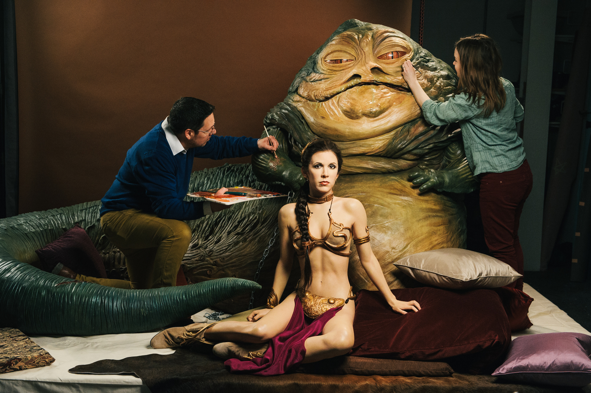 Madame-Tussauds-Star-Wars-Experience-JABBA-THE-HUTT-AND-PRINCESS-LEIA-10