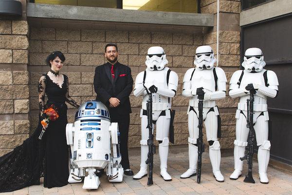Decoração de casamento inspirada em Star Wars