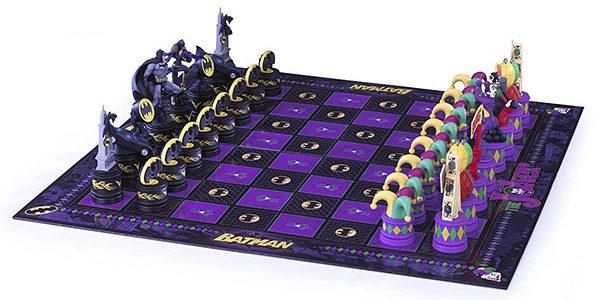 Tabuleiro de xadrez Batman Dark Knight vs. The Joker