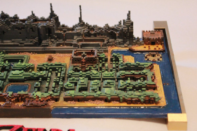The Legend of Zelda - Com mapa de Minecraft fã cria impressão 3D de Hyrule