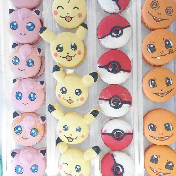 Pokarons - Os macarrons inspirados nos Pokémons