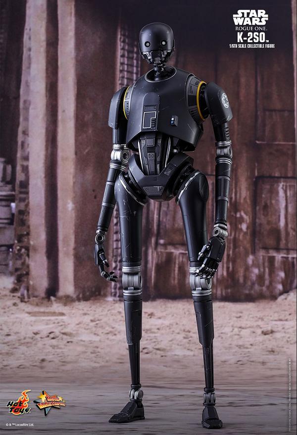 Hot Toys libera imagens da action figure de K-2SO o droide de Star Wars