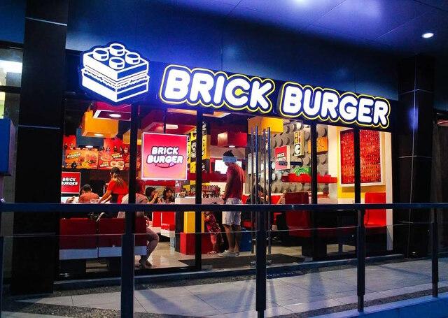 Brick Burger: hamburgueria para os fãs de LEGO