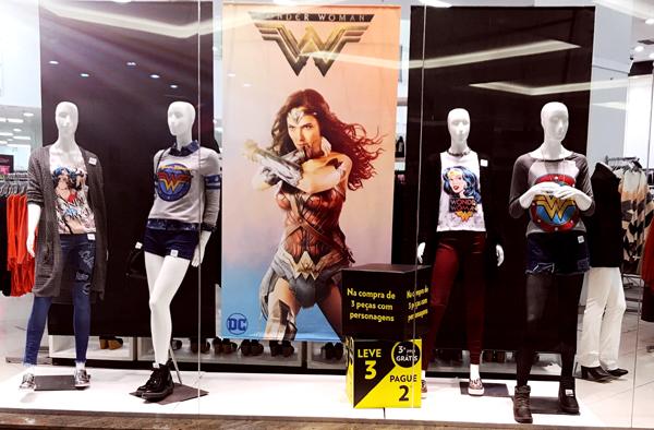 Achados Nerds: Coleção Wonder Woman loja Marisa