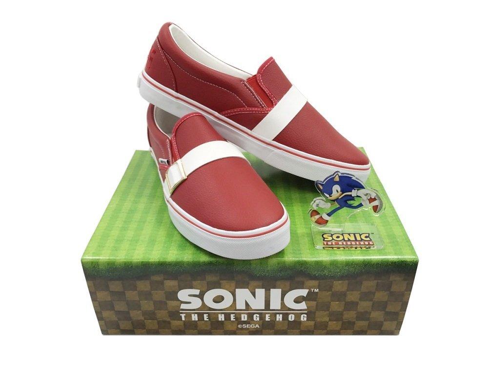 Marca japonesa lança tênis inspirado em Sonic