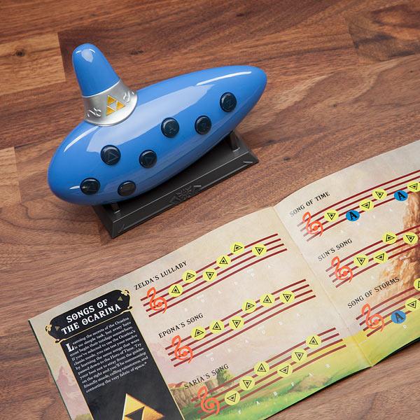Versão eletrônica da ocarina de The Legend of Zelda