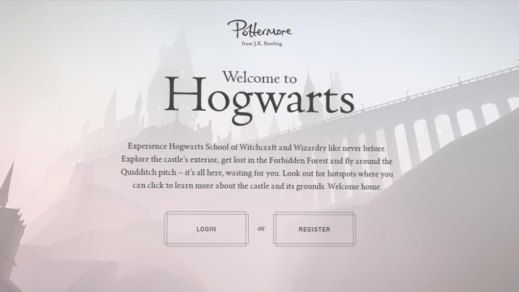 Site de Harry Potter transporta fãs para Hogwarts