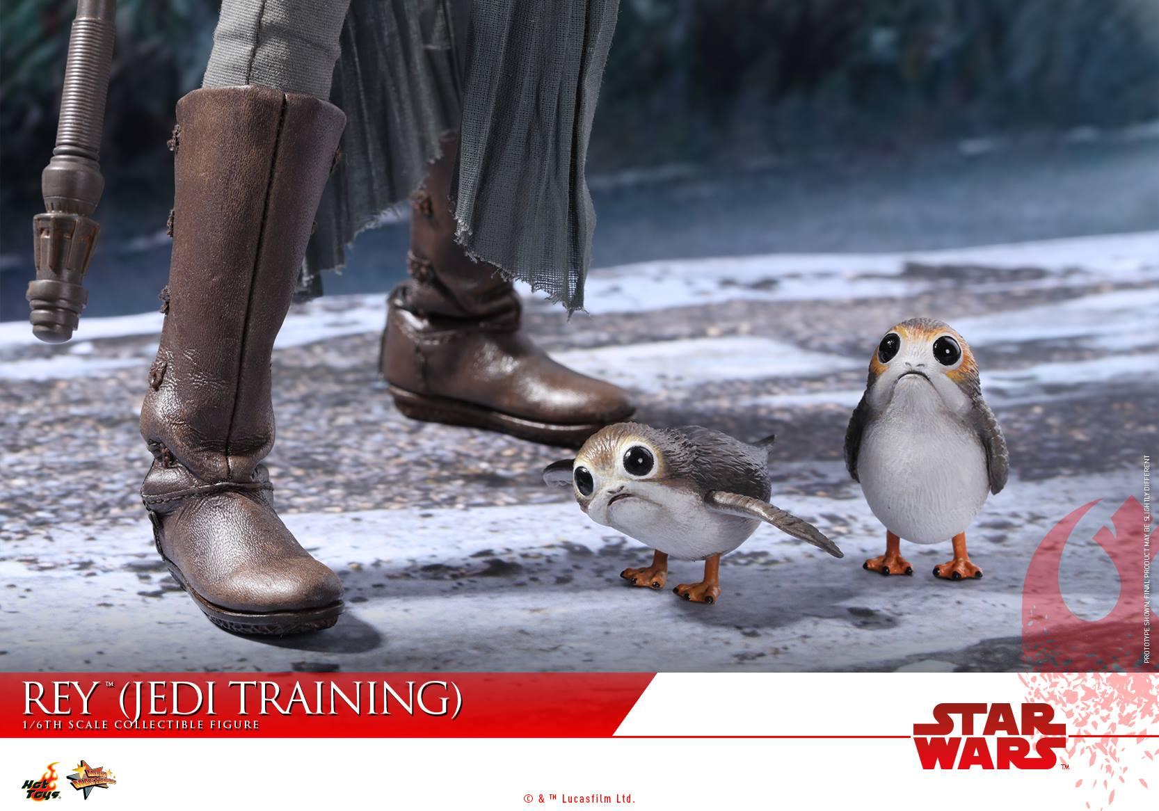 Hot Toys lança action figure da Rey inspirado em Star Wars: Os Últimos Jedi