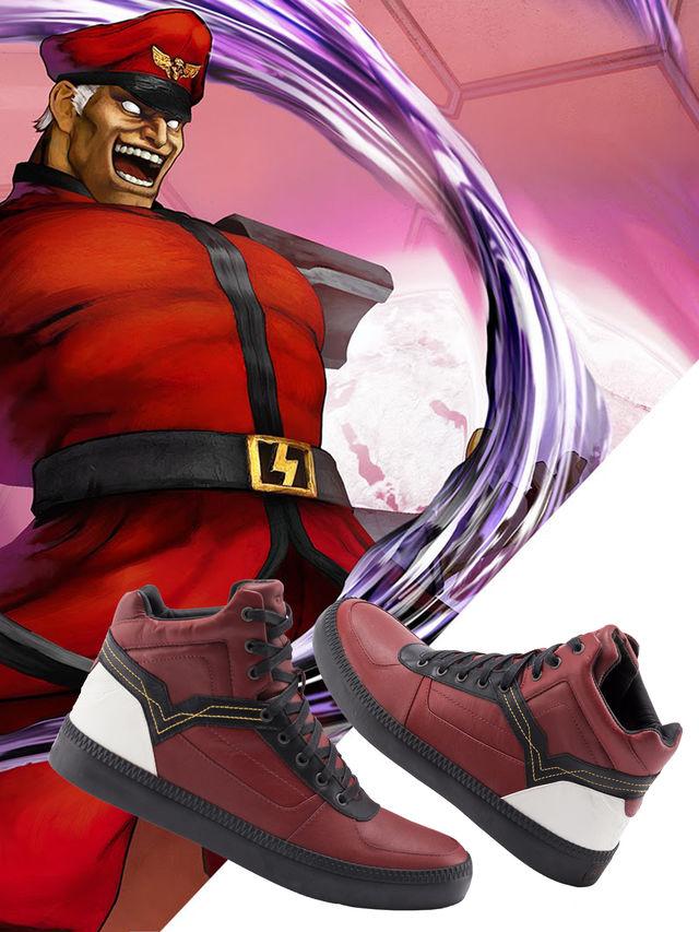Diesel lança coleção de tênis Street Fighter