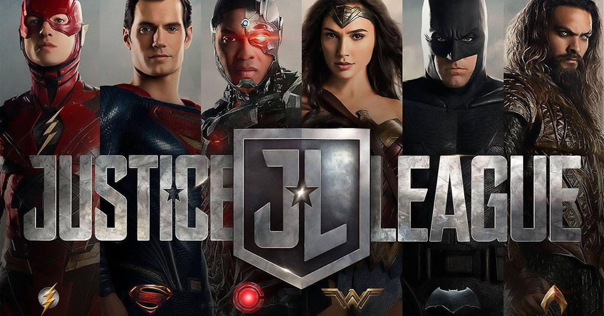 A Liga da Justiça está entre nós!
