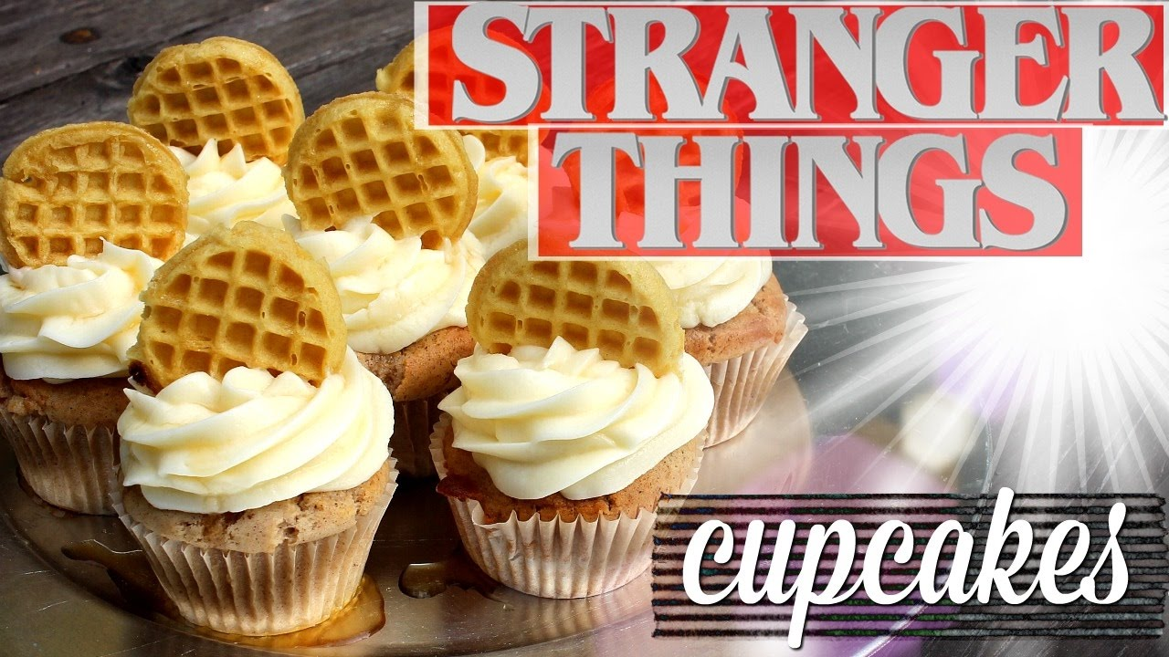Cupcake de Stranger Things!