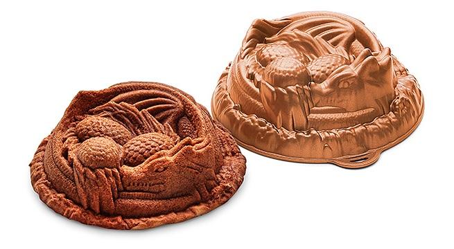 Forma de bolo transforma sua receita e dragão!