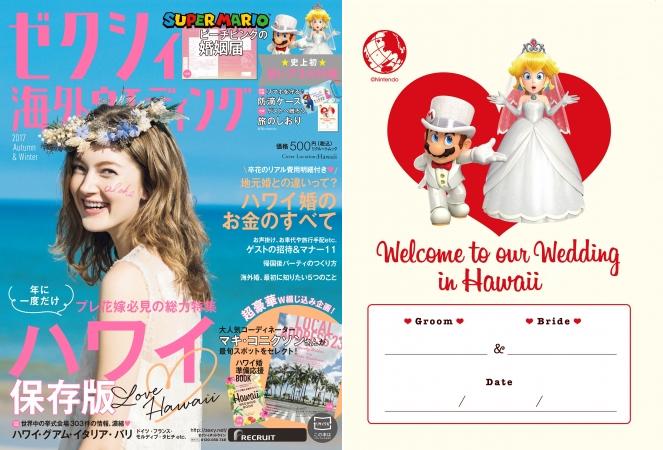 Formulários de casamento inspirados em Mario e Princesa Peach
