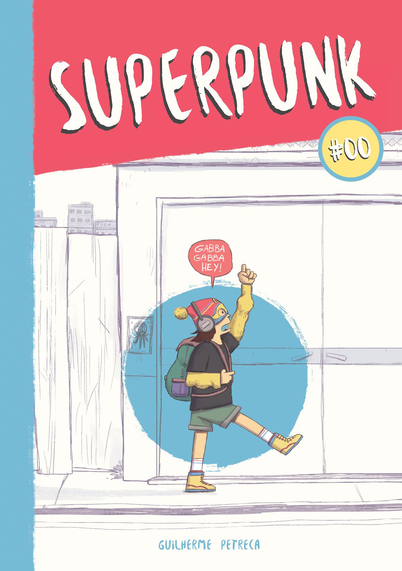Adolescente, super-heroína e punk: Superpunk