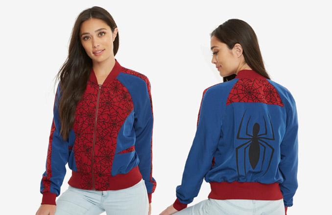 Desejo nerd do dia: Jaqueta estilo bomber Homem Aranha