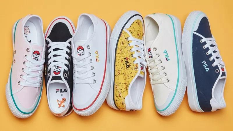 Pokémon: Fila lança coleção de tênis inspirada nos personagens
