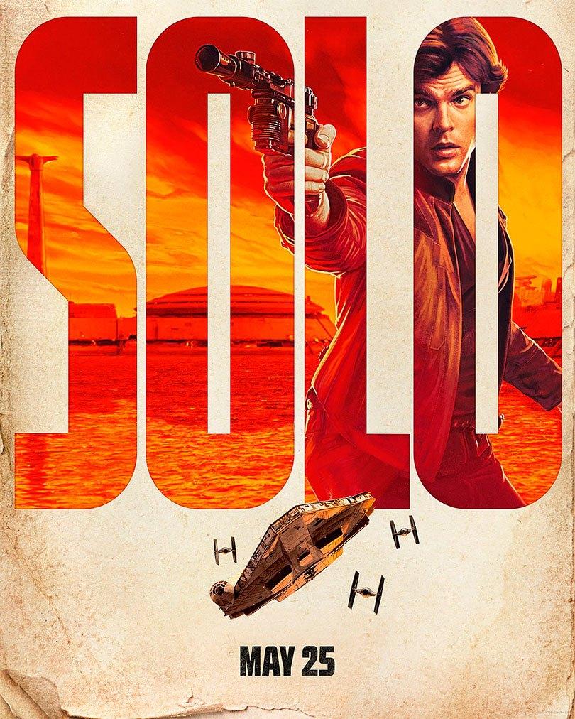 Novos pôsteres de Solo: Uma história de Star Wars