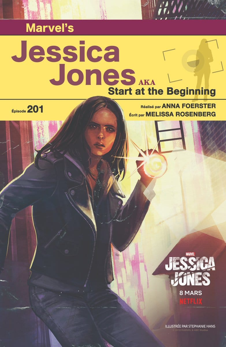 Jessica Jones: 13 diretoras e 13 ilustradoras para os 13 episódios da 2ª temporada