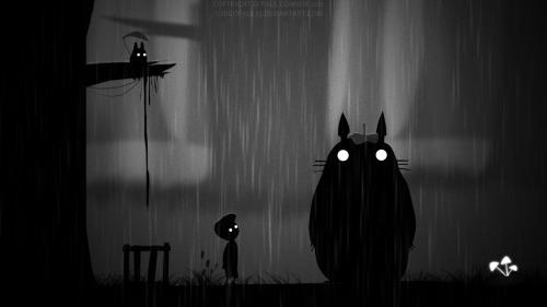 Limbo: Artista cria ilustrações com vários personagens dentro do game
