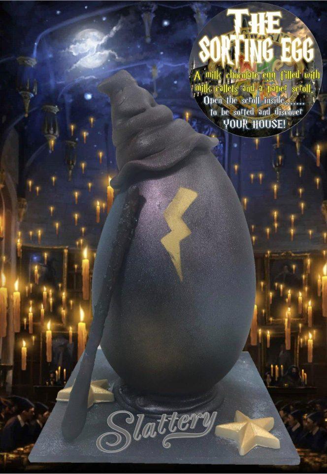 Harry Potter: Incrível ovo de Páscoa promete escolher a sua casa