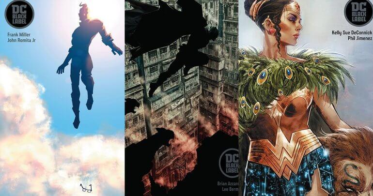 "DC Comics anuncia o novo selo ""Black Label"""
