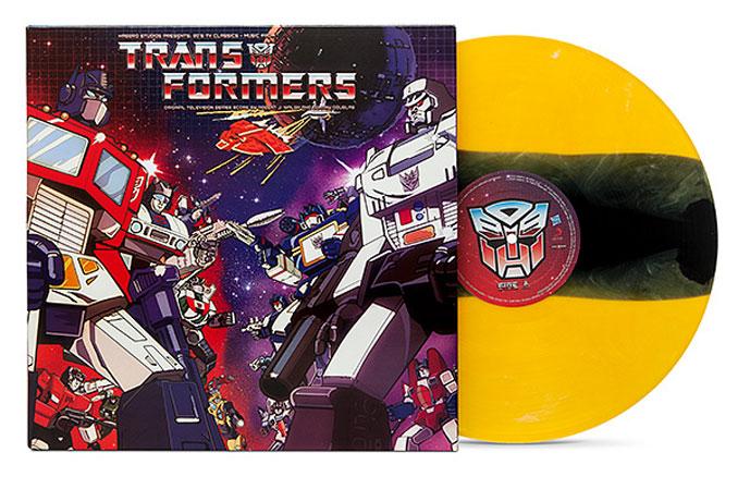 Transformers: Vinil com trilha sonora clássica inspirado no BumbleBee