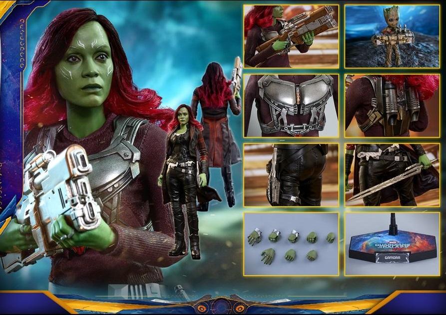 Vingadores - Guerra Infinita: Hot Toys lança action figure de Gamora