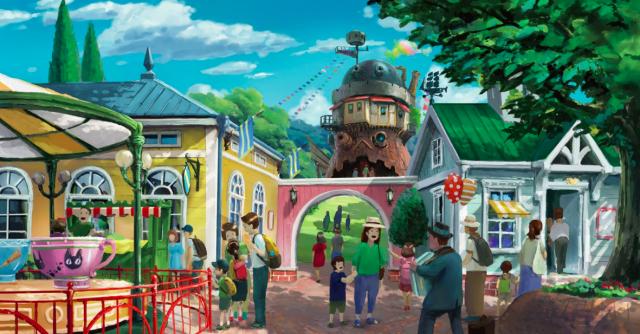 Parque temático do Studio Ghibli será inaugurado em 2022