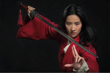 Disney divulga a primeira imagem do live-action de Mulan
