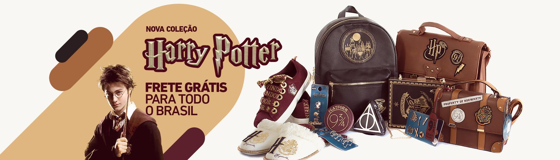 Coleção Harry Potter - Garotas Nerds Store