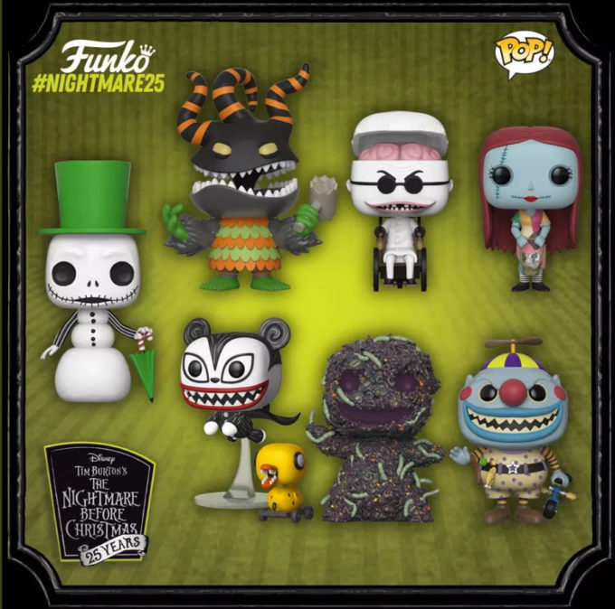 The Nightmare Before Christmas: Funko celebra os 25 anos do filme com novos colecionáveis