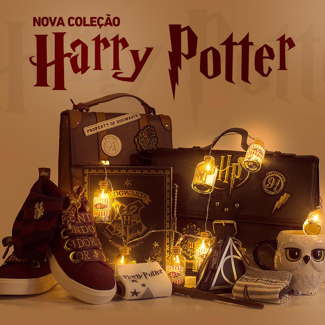 Nova coleção Harry Potter
