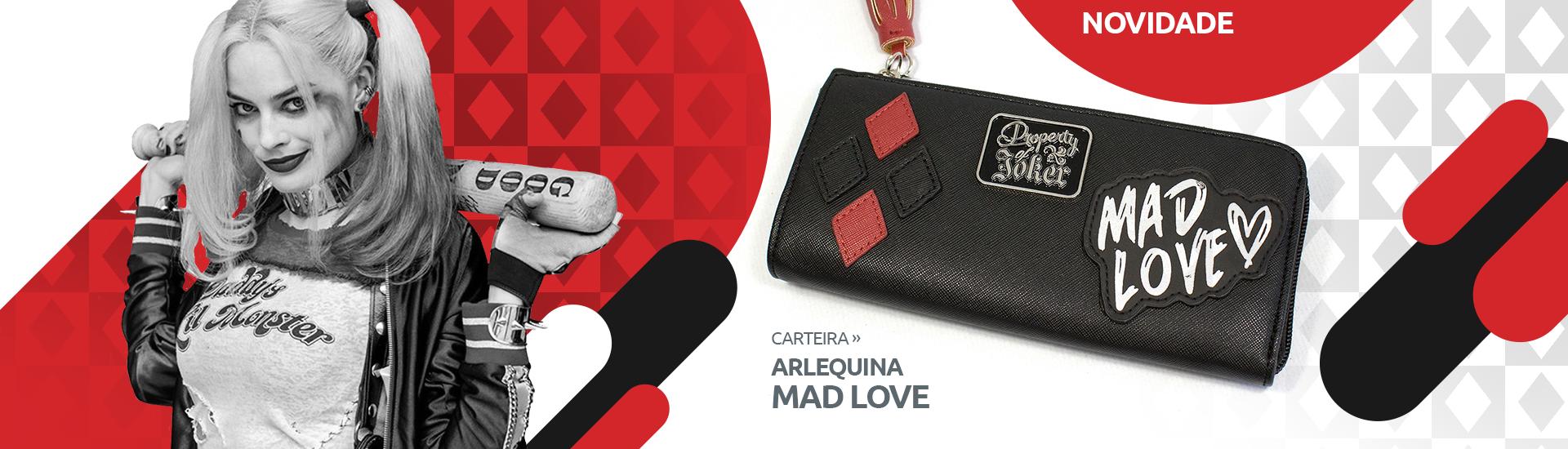 Carteira Arlequina - Mad Love