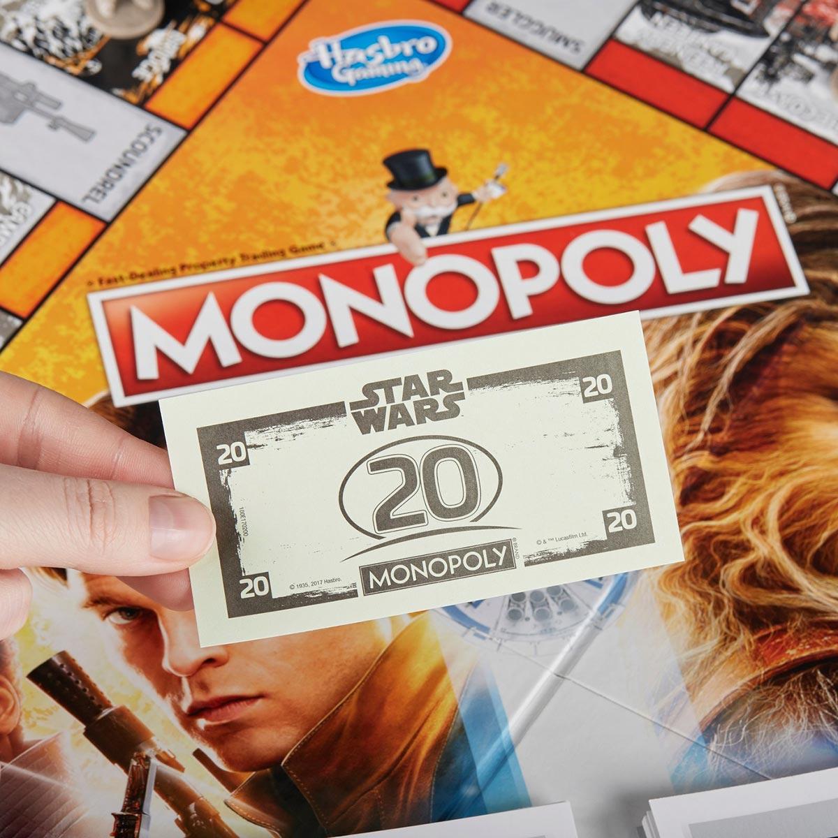 Monopoly Star Wars Han Solo